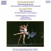 Tchaikovsky: Sleeping Beauty;  Glazunov / Lenard, CSR SO