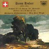 Huber: Symphonies no 3 and 6 / Baier, Weigle, Stuttgart PO