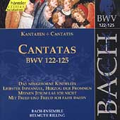 Edition Bachakademie Vol 39 - Cantatas BWV 122-125 / Rilling