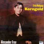 Korngold: Piano Works Vol 1 / Alexander Frey