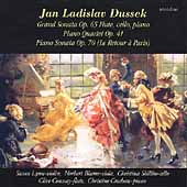 Dussek: Grand Sonata, Piano Quartet, etc / Croshaw, et al