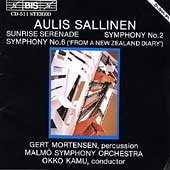 Sallinen: Symphonies no 2 & 6, etc / Kamu, Malmö SO