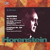Haydn: The Creation, Symphony no 104 / Horenstein, Vienna SO