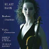 Brahms, Stravinsky: Violin Concertos / Hahn, Marriner, ASMF