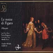 Mozart: Le Nozze di Figaro / Abbado, Berganza, Prey, et al