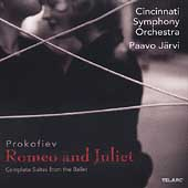 Prokofiev: Romeo and Juliet Suites / Paavo Järvi, Cincinnati