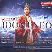 Opera in English - Mozart: Idomeneo / Parry, Ford, et al