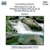 Rachmaninof: Piano Sonata no 2, Variations, etc / Idil Biret