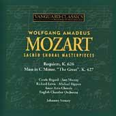 Mozart: Choral Masterpieces / Somary, Bogard, Lewis, et al