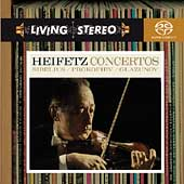 Sibelius, Prokofiev, Glazunov: Concertos / Heifetz, et al