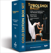 The Bolshoi Ballet / The Pharaoh's Daughter, Pique Dame, Bolt [3 DVD]