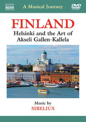 A Musical Journey - finland: Helsinki and the Art of Akseili Gallen-Kallela / Music of Sibelius [DVD]