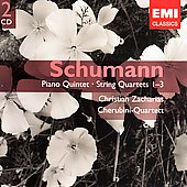Gemini - Schumann: Piano Quintet, etc / Cherubini Quartet