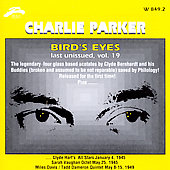 Charlie Parker (Sax): Bird Eyes, Vol. 19