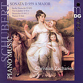 Schubert: Piano Music / Zacharias