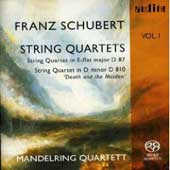Schubert: String Quartet D 810 & D 87 / Mandelring String Quartet