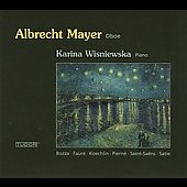 Saint-Saëns: Sonata for Oboe and Piano;  Fauré, etc / Mayer, Wisniewska