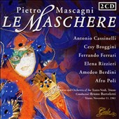 Mascagni: La Maschere