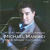 Mozart: Arias for Male Soprano