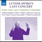 Lutoslawski's Last Concert