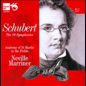 Schubert: The 10 Symphonies / Marriner