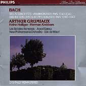 Bach: Violin Concertos BWV 1041 & 1042, etc / Grumiaux et al
