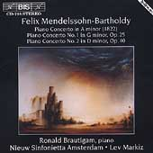 Mendelssohn-Bartholdy: Piano Concertos / Brautigam, Markiz