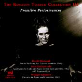 The Rosalyn Tureck Collection Vol 3 - Premiere Performances