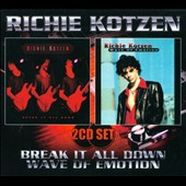 Richie Kotzen: Break It All Down/Wave of Emotion [Digipak] *