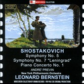 Shostakovich: Symphony No. 5; Symphony No. 7 