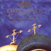 Rakhmaninov: Liturgy of St. John Chrysostom / Bruffy, et al
