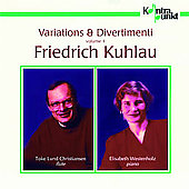 Kuhlau: Variations & Divertimenti Vol 1 / Christiansen, etc