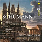 Schumann: Symphonies Nos. 1 & 3 / Christian Zacharias, Lausanne CO