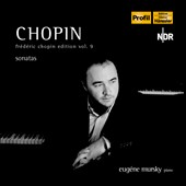 Chopin Edition, Vol. 9: Piano Sonatas Nos. 1-3 / Eug&eacute;ne Mursky, piano