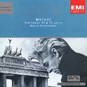 Karajan Edition - Mozart: Symphonien 40 & 41 / Berliner