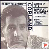 Bernstein Century - Copland: Symphony no 3, etc / Biggs