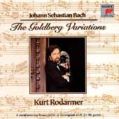 Bach: The Goldberg Variations / Kurt Rodarmer