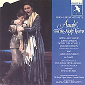 Menotti: Amahl and the Night Visitors / Syrus, Rainbird, etc