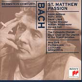 Bernstein Century - Bach: St. Matthew Passion / NYPO, et al