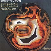 Simpson: String Quartets no 1 & 4 / Delmé Quartet