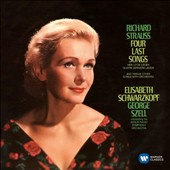 Richard Strauss: Four Last Songs; 12 Songs with orchestra / Elizabeth Schwarzkopf, soprano; George Szell