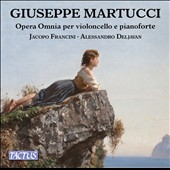 Giuseppe Martucci (1856-1909): Complete works for cello & piano / Jacopo Francini, cello; Alessandro Deljavan, pianoforte