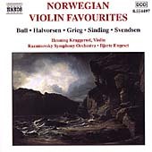 Norwegian Violin Favourites / Kraggerud, Engeset, et al