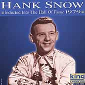 Hank Snow: Hall of Fame: 1979