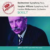 Rachmaninov: Symphony no 3;  Vaughan Williams / Boult, et al