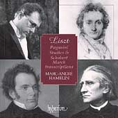 Liszt: Paganini Studies & Schubert Transcriptions / Hamelin