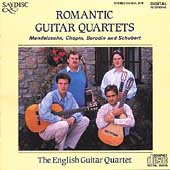 Romantic Guitar Quartets / The English Guitar Quartet