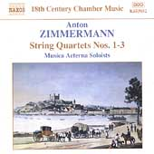 18th Century Chamber Music - Zimmermann: String Quartets