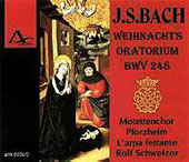 J.S. Bach: Weihnachts Oratorium, BWV 248 / Schweitzer, et al
