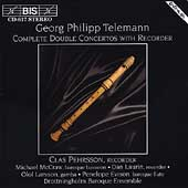 Telemann: Complete Double Concertos with Recorder / Pehrsson